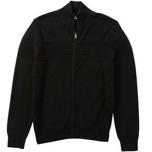 Nautica Mens Sz XL Zippered Cardigan Sweater New